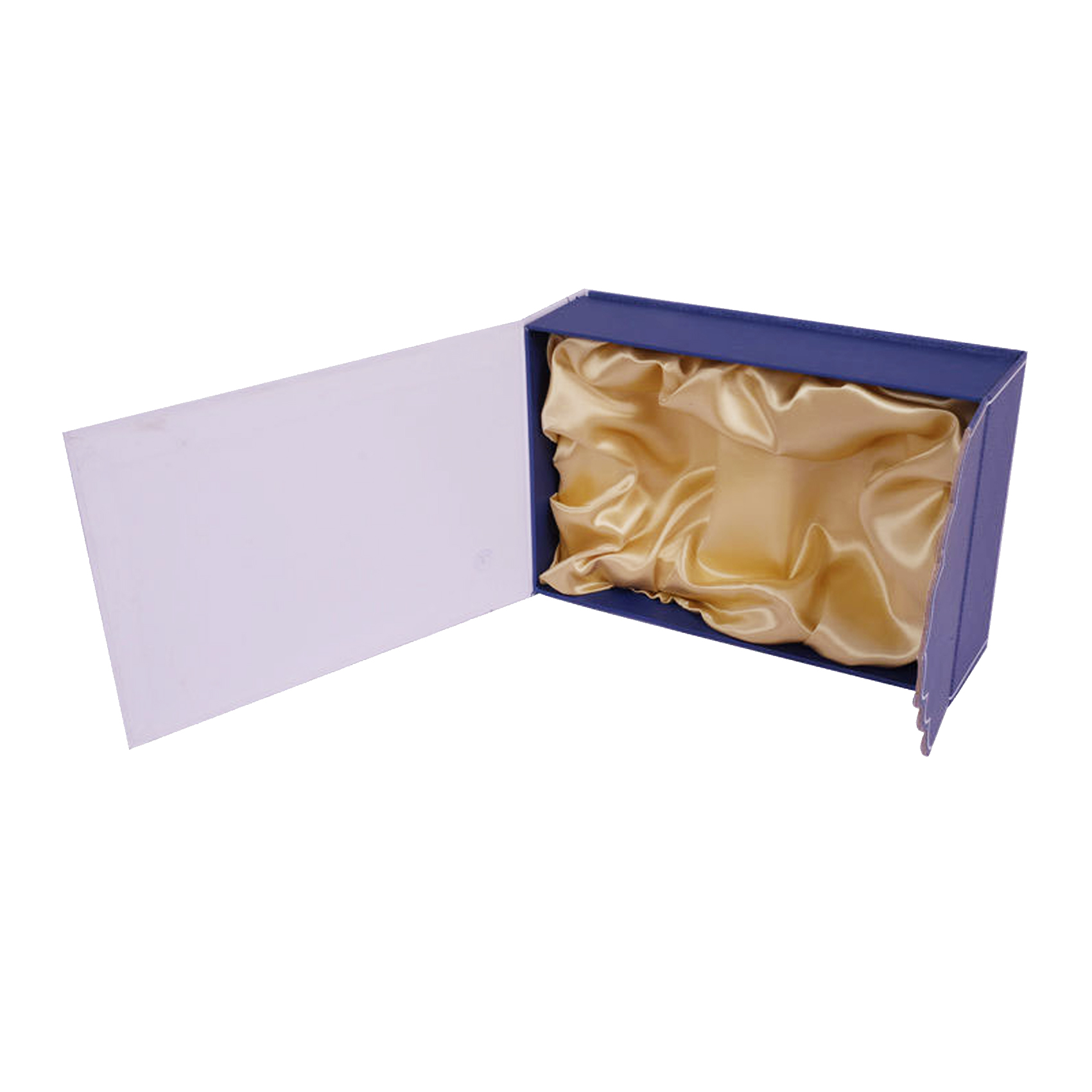 box with satin