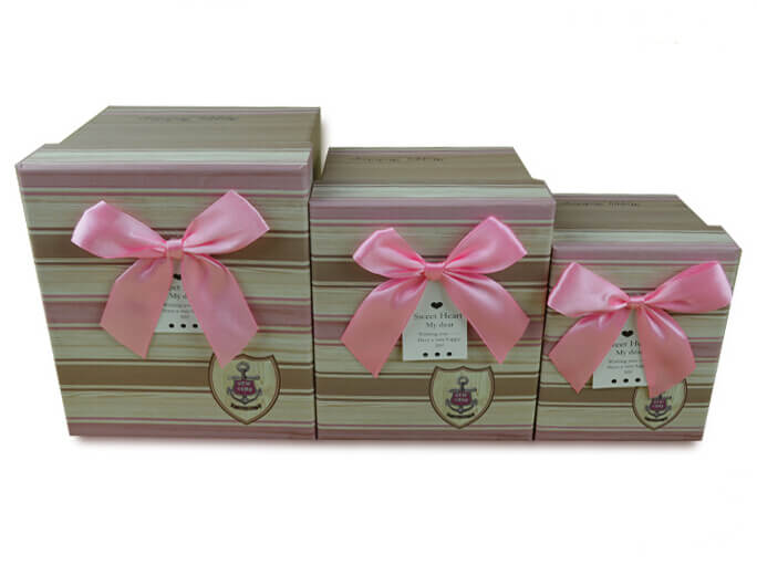 Baby Book Gift Boxes Small Square Boxes Paper Gift Box