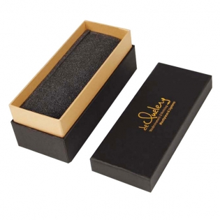 Customized Black Box for Necktie Packaging