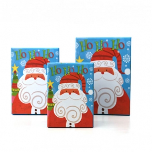 Santa Claus Boxes for Christmas Gift Packaging