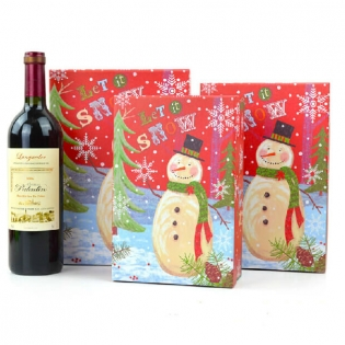 Snowman Printing Boxes for Christmas Gift