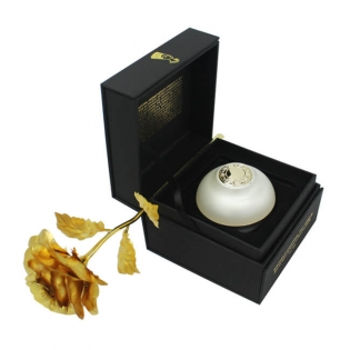 Square Shape Embossed Logo Perfume Gift Boxes