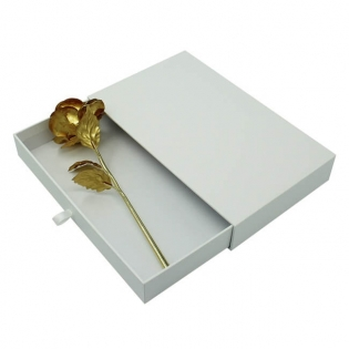 Plain White Gift Sliding Box Template