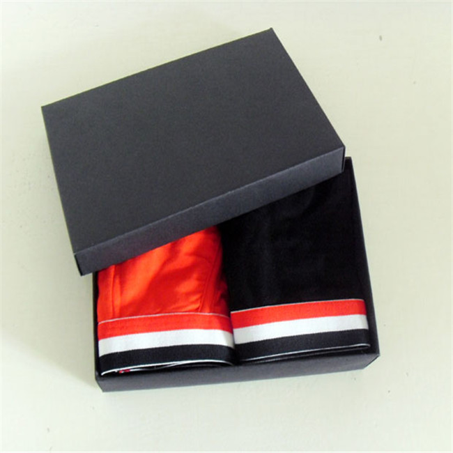 Hot Sale Wholesale Custom Apparel Black Boxes With Logo