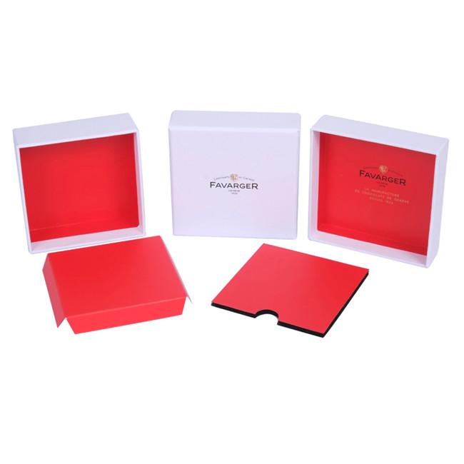 Fashion Necklace Storage Box, Cardboard Jewelry Boxes