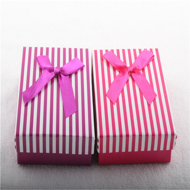 Ribbon Decorative Necklace Gift Boxes Wholesale