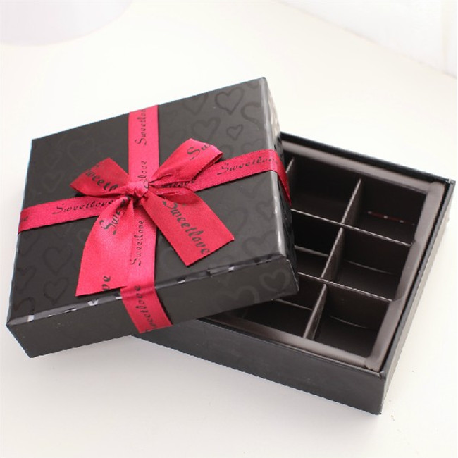 chocolate presentation boxes