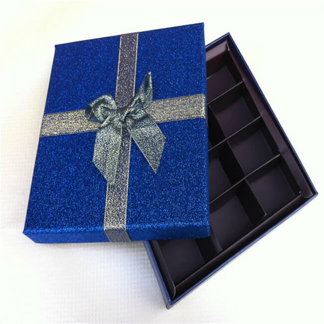12 Pack Empty Chocolate Gift Boxes
