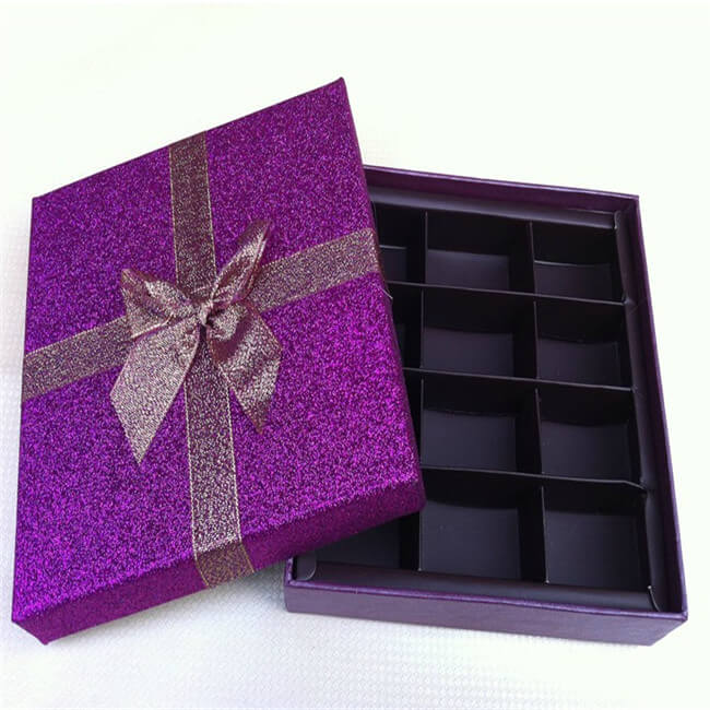 12 Pack Empty Chocolate Gift Boxes Chocolate Candy Box