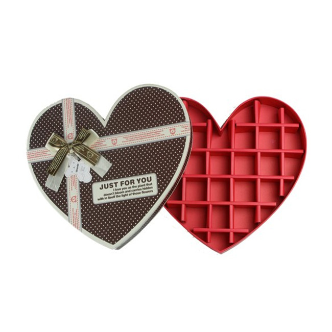 Black Chocolate Box Gift Candy Boxes With Ribbon Chocolate Candy Box