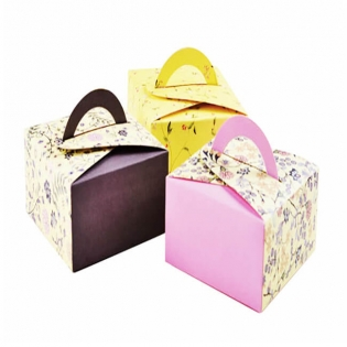Art Paper Cake Packaging With Custom Design