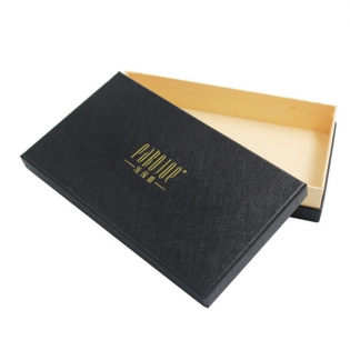 Luxury Special Paper Men's Gift Boxes for Wallet Packing