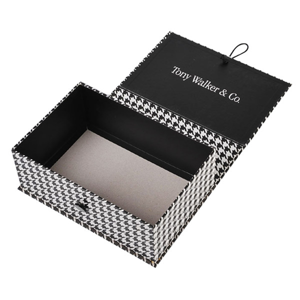 Book Shape Wholesale Cosmetic Boxes With Ribbon