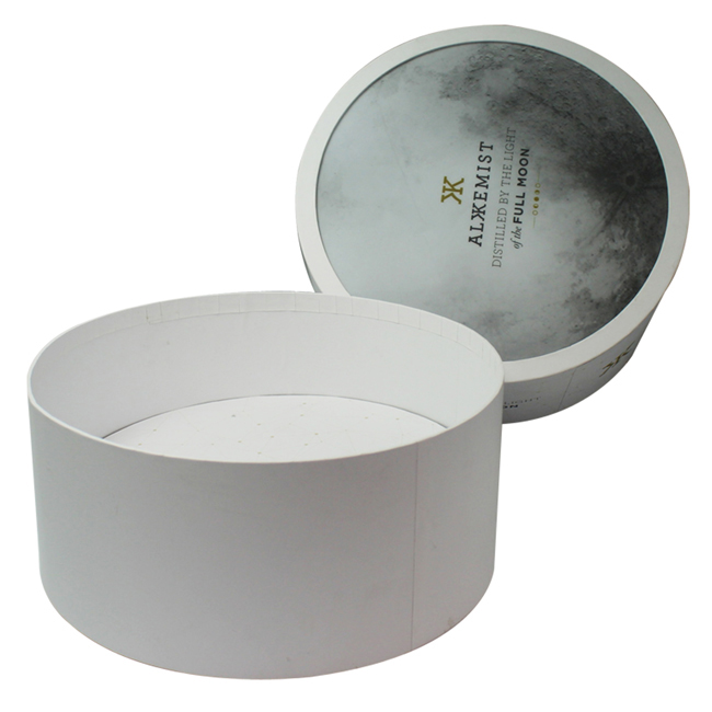 Custom Round Cosmetic Packaging Boxes With Lid