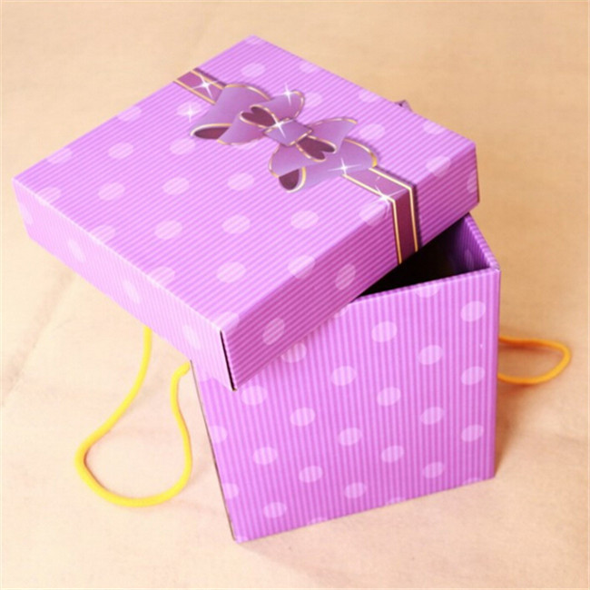 gift packaging for flower
