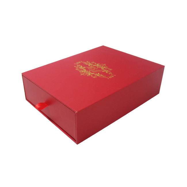 Big Red Jewellery Set Box, Jewelry Box For Necklaces