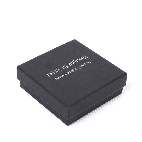 Black Jewelry Box For Necklaces And Earrings