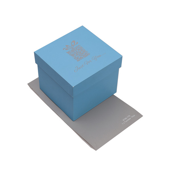 Jewellery Box Suppliers, Blue Ring Gift Boxes