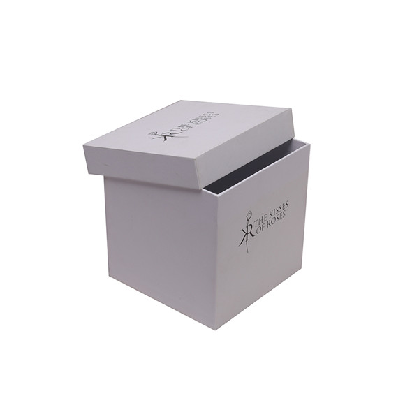 Christmas Gift Boxes With Lids, Clear White Gift Boxes