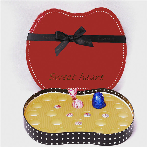 Red Gift Box,Christmas Gift Boxes With Inner Tray