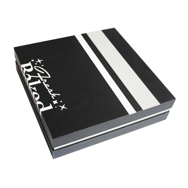 navy blue gift boxes with lids